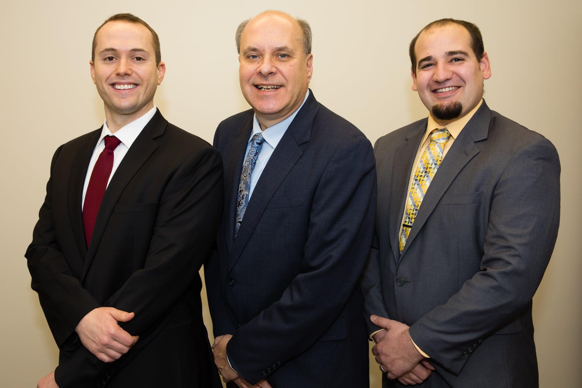 Michael Warne, Mark Winiecki and John Murphy